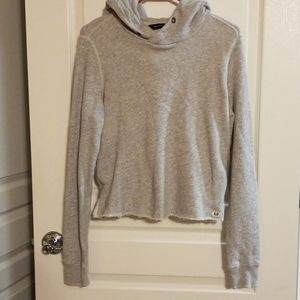 Gray Abercrombie and Fitch hoody